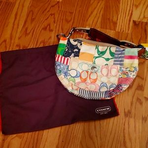 Coach hobo patchwork 2007